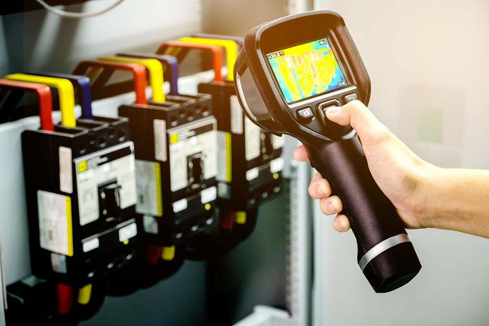 thermal imaging for electrical equipment