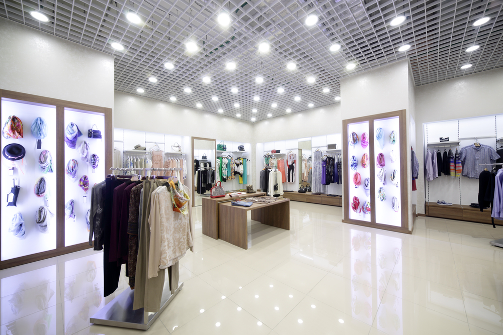Advantages of accent lighting for retail