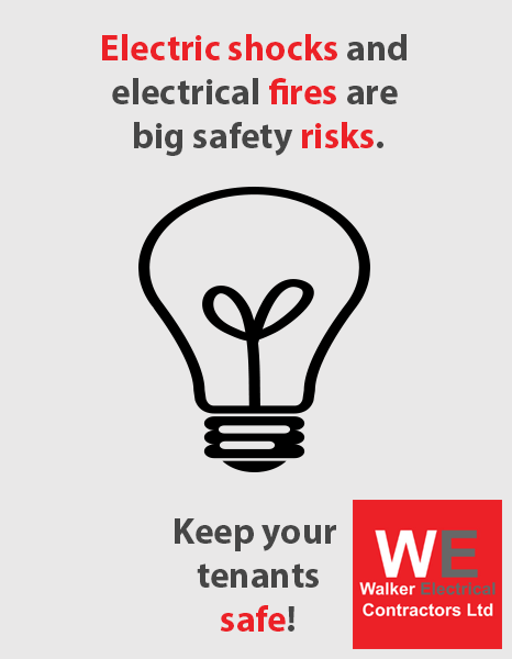 electric shocks and fire risks in student accommodation