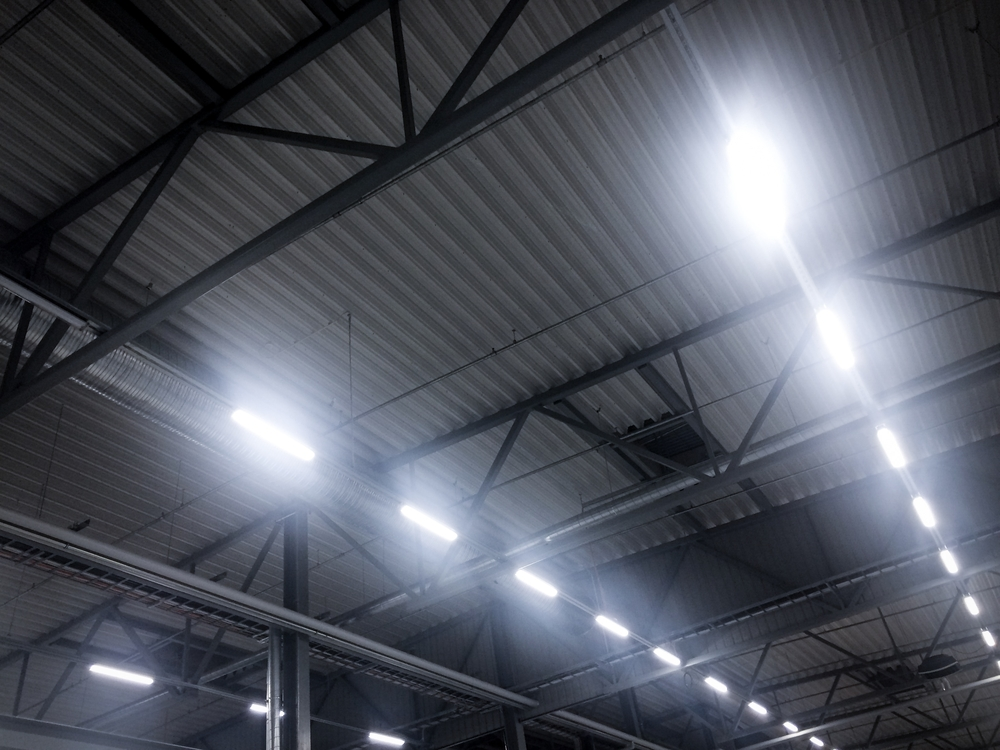 Advantages of motion lighting in industrial settings