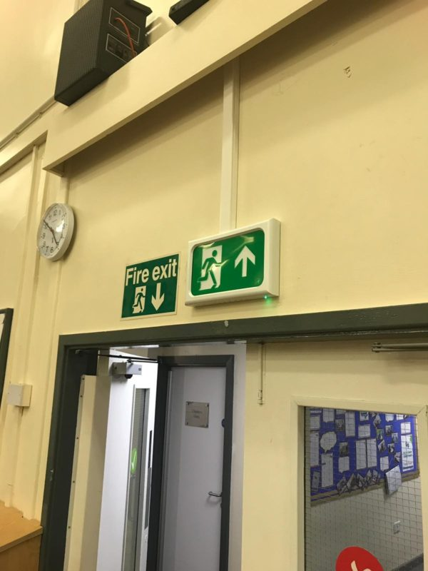 Emergency lighting for schools - Walker Electrical Ltd